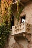 juliet s балкона Стоковое Фото