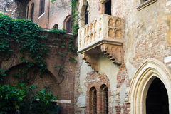 Juliet's balcony Royalty Free Stock Image