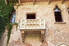 Juliet`s balcony royalty free stock images