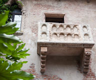 Juliet's balcony in Verona Royalty Free Stock Image