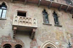 Juliet's balcony in Verona, Italy Royalty Free Stock Image