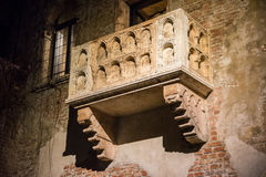 Juliet's balcony, Verona, Italy Royalty Free Stock Photo