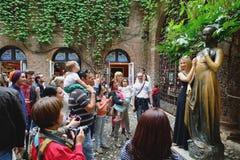 Juliet's statue Stock Photo