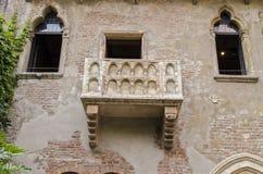 Juliet w Verona Obrazy Royalty Free