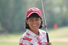 Julieta Granada, LPGA golf Tour, Stockbridge, 2006 Stock Photo