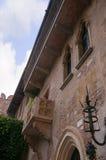 Juliets balcony in Verona Italy Royalty Free Stock Photography