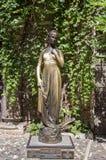 Juliets skulptur nära hennes hus, berömt touristic ställe i Verona royaltyfri fotografi