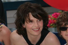 Juliette Binoche Royalty Free Stock Photography