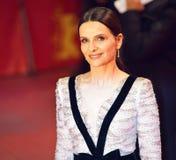 Juliette Binoche attends the `The Kindness Of Strangers royalty free stock photo