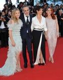 Juliette Binoche & Kristen Stewart & Chloe Grace Moretz & Olivier Assayas Stock Images