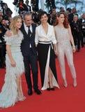 Juliette Binoche & Kristen Stewart & Chloe Grace Moretz & Olivier Assayas Royalty Free Stock Photo