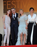 Juliette Binoche & Kristen Stewart & Chloe Grace Moretz & Olivier Assayas Royalty Free Stock Photography