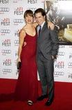 Juliette Lewis och Dermot Mulroney Royaltyfri Fotografi