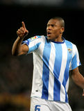 Julio Baptista of Malaga Royalty Free Stock Images