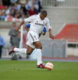 Julio Baptista of Real Madrid Stock Image
