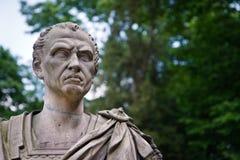 Julio César - dictador romano fotografía de archivo