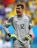Julio Cesar Coupe du monde 2014 Royalty Free Stock Photo