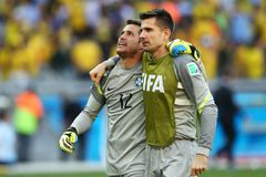 Julio Cesar Coupe du Monde 2014 Stock Image