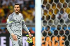 Julio Cesar Coupe du monde 2014 Stock Photo
