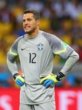 Julio Cesar Coupe du monde 2014 Stock Photos