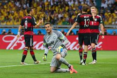 Julio Cesar Coupe du monde 2014 Royalty Free Stock Image