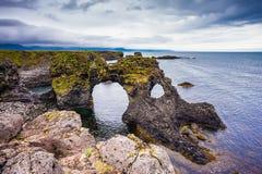 Julio en Islandia Imágenes de archivo libres de regalías
