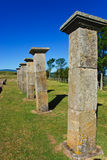 Juliobriga. Archaeological roman remains of Juliobriga, Cantabria. Spain Royalty Free Stock Photography