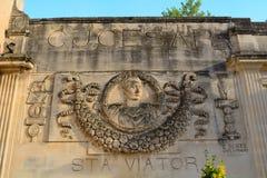 Julius Caesar, Arles, Frankreich Lizenzfreie Stockfotografie