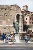 Julius Caesar Statue Stock Photos