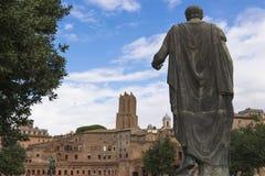 Julius Caesar Statue Rome Lizenzfreie Stockfotos