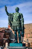 Julius Caesar statue in Rome, Italy Royalty Free Stock Photography