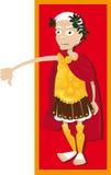Julius Caesar tum ner vektor illustrationer