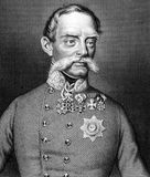 Julius Jacob von Haynau Royaltyfria Bilder