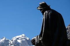Julius Kugy Monument Stock Image