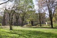 Juliusz Heinzl's Palace in Lagiewniki, Lodz Stock Image