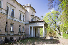 Juliusz Heinzl's Palace in Lagiewniki, Lodz Royalty Free Stock Photography