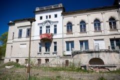 Juliusz Heinzl's Palace in Lagiewniki, Lodz Stock Photos