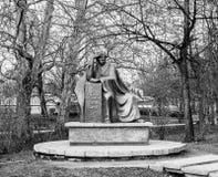 Juliusz Slowacki monument A in Wroclaw Poland Stock Image