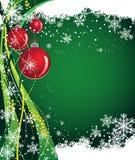 juljordklot stock illustrationer