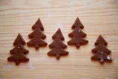 Julkakorna jul min version för portföljtreevektor Arkivfoton