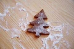 Julkakorna jul min version för portföljtreevektor Arkivbilder