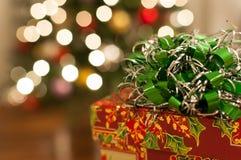 Julklapp Fotografering för Bildbyråer