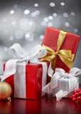 Julklappar Fotografering för Bildbyråer