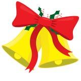 Julklocka Royaltyfri Illustrationer