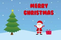 Julkort Stock Illustrationer