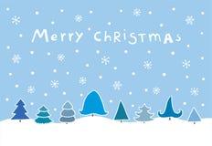 Julkort Royaltyfria Bilder