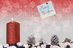 Julkort Arkivbild