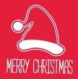 Julkort - dekorativt kort för glad jul Royaltyfria Foton