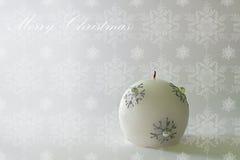 Julkort - julljus Arkivfoto