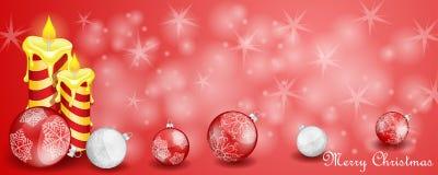 Julkort med garnering vektor illustrationer